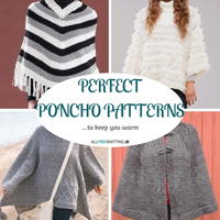 Perfect Poncho Patterns: 20+ Free Knitting Patterns to Keep You Cozy