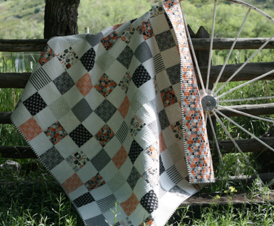 Classic Checkerboard Charm Quilt