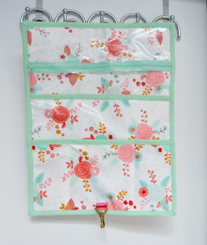 Hanging Toiletry Clutch