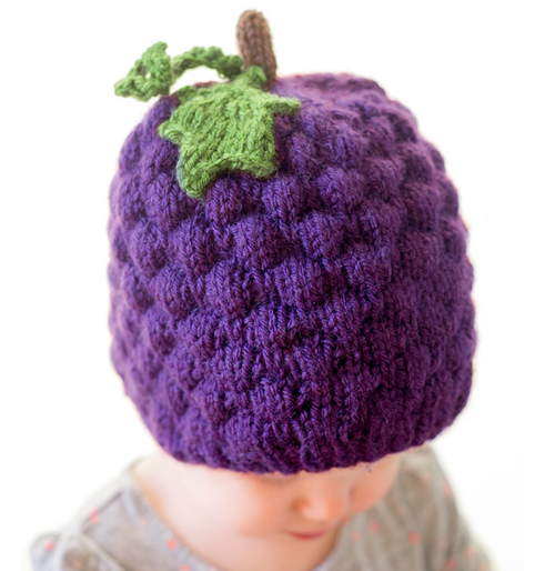 Juicy Grape Baby Hat Pattern