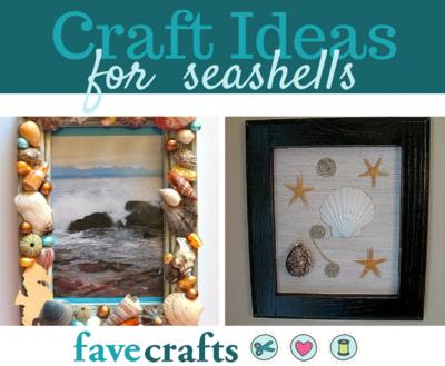 24 Craft Ideas For Seashells Favecrafts Com