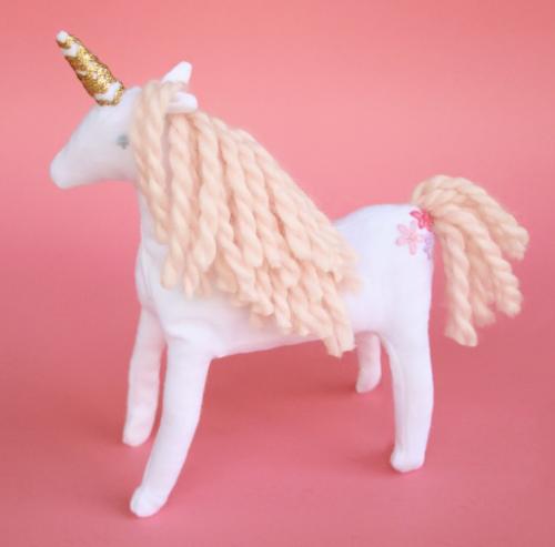 magical unicorn stuffed animal pattern