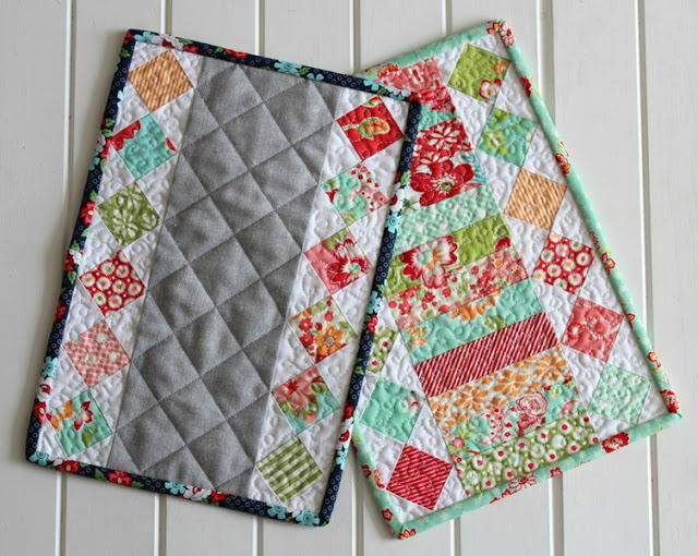 Simply Scrappy Candle Mat Pattern Favequilts Com