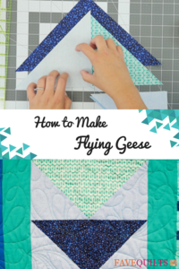 How to Make Flying Geese Tutorial