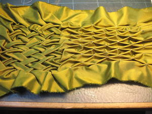 Lattice Smocking