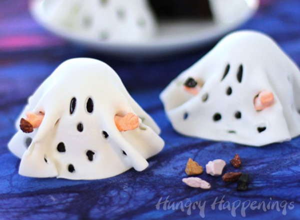 Charlie Brown-ies Halloween Ghost Treats