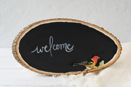 Charming Country DIY Welcome Sign