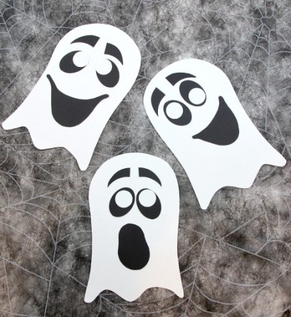 Goofy Paper Ghost Craft