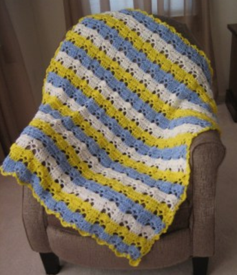 Little Prince Baby Crochet Afghan
