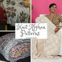 20 Snuggly Knit Afghan Patterns