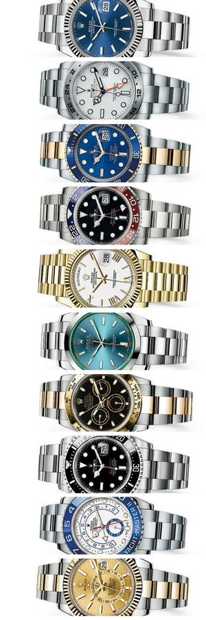 Current Rolex Watches