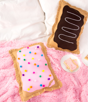 No Sew Pop Tart DIY Pillow