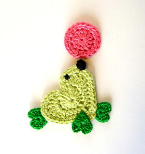Crochet Seal Applique Pattern