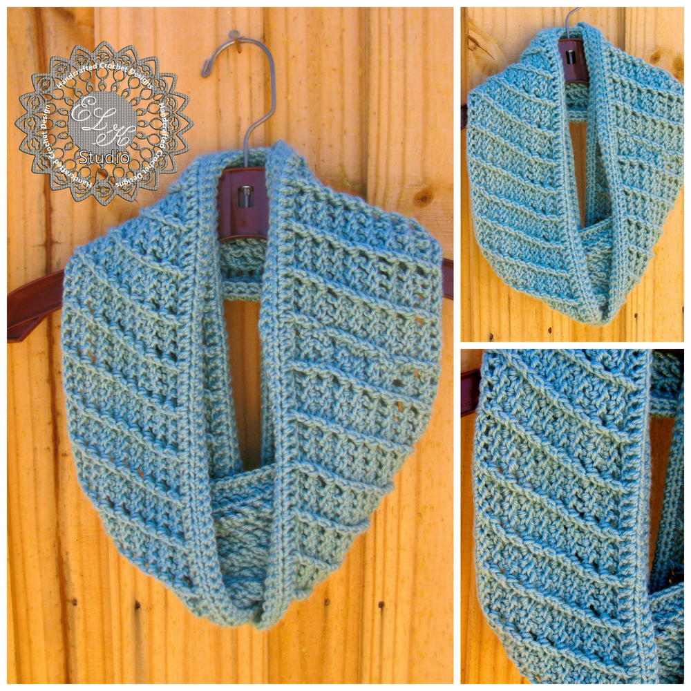 country appeal infinity scarf allfreecrochet