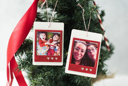 DIY Photo Ornament Tutorial