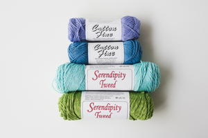Water Lily & Whispering Periwinkle Yarn Assortment Giveaway