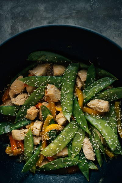 Paleo Asian Chicken Stir Fry