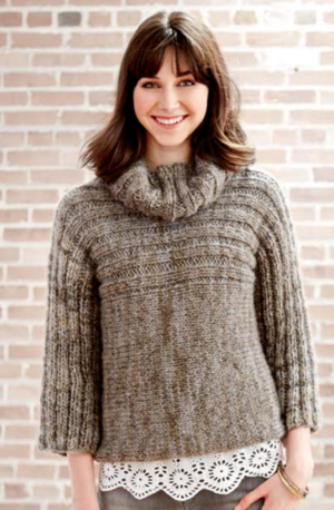Misty Morning Knit Sweater Pattern