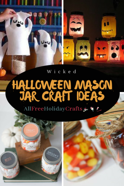 Wicked Halloween Mason Jar Craft Ideas