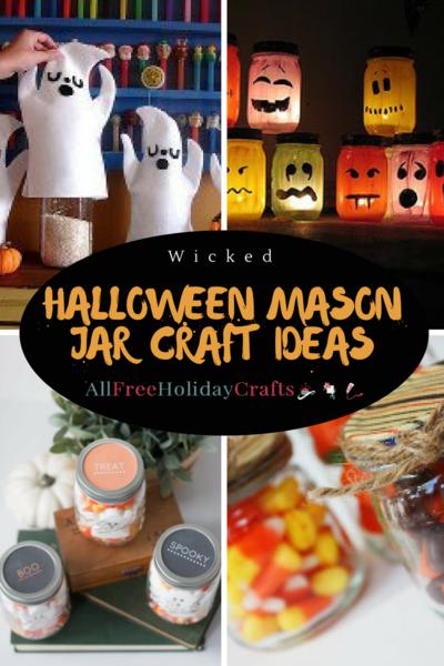 24 Wicked Halloween Mason Jar Craft Ideas Allfreeholidaycrafts Com