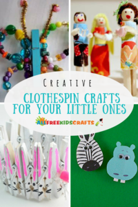 36 Creative Clothespin Crafts for Your Little Ones
