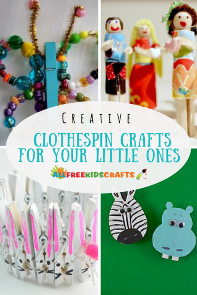 Creative Clothespin Crafts for Your Little Ones