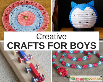 Creative Crafts for Boys