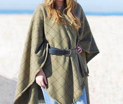 Winter Wool DIY Cape