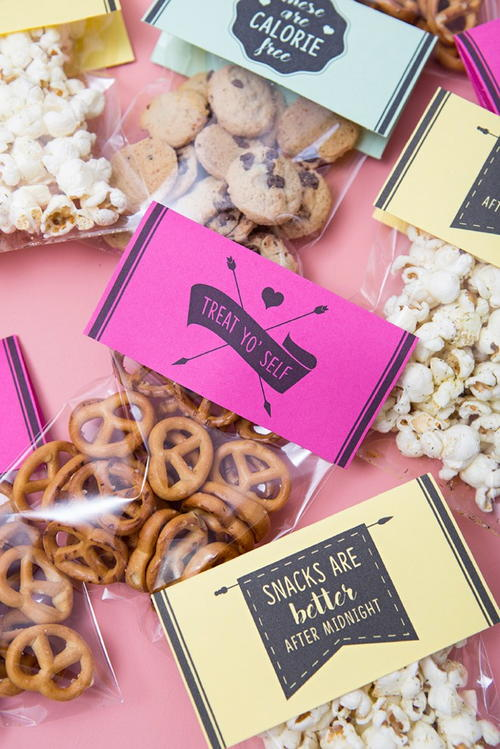 Yummy Wedding Snack Bags