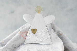 Angel Ornament Toilet Paper Roll Craft