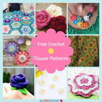 29 Free Crochet Flower Patterns + Crochet Flower Pattern Video