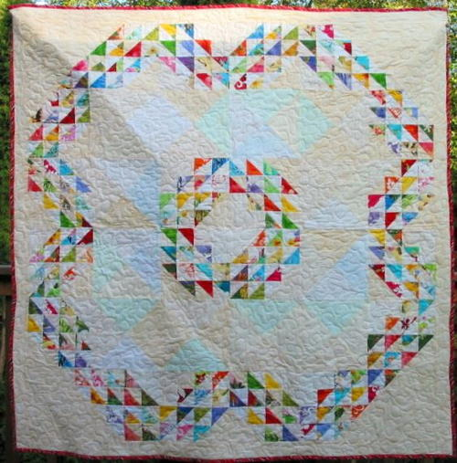 Hawaiian Waves Baby Quilt Pattern