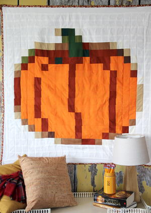 Pixel Perfect Pumpkin Quilt Pattern