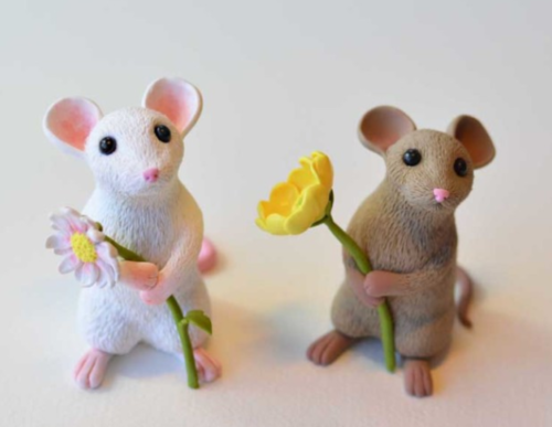 Darling Mice Garden Accents
