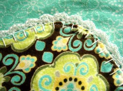 Scalloped Baby Blanket Crochet Edging