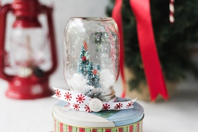 Waterless Snow Globe Craft