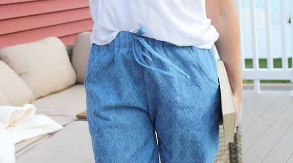 Woven Jogger Pants Tutorial