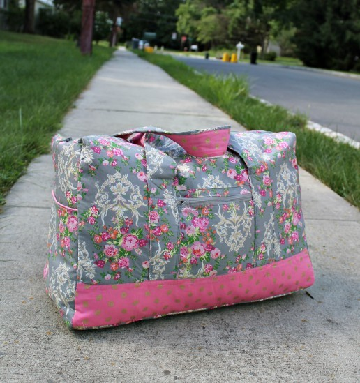 Vera Bradley inspired Carryon Duffel Bag