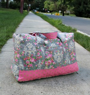 Vera Bradley Inspired Carry-On Duffel Bag