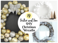 19 Festive and Fun DIY Christmas Wreaths