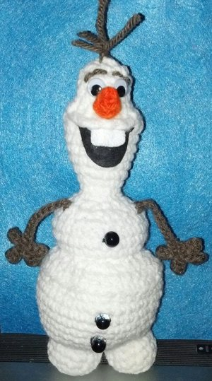 Olaf the Snowman Crochet Pattern