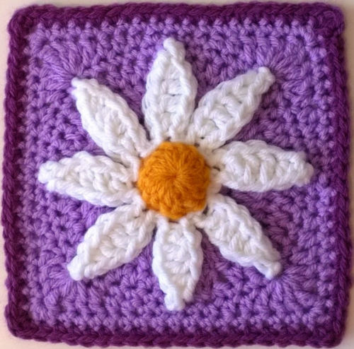 Beautiful Petals Granny Square Pattern