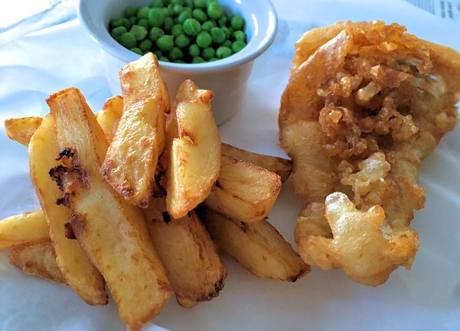 Classic british fish and chips for British fish and chips recipe