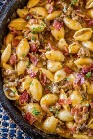Bacon Cheeseburger Hamburger Helper