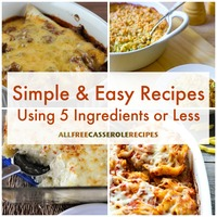 28 Simple and Easy Recipes Using 5 Ingredients or Less