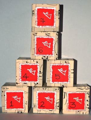 Sheet Music Boxes Advent Calendar