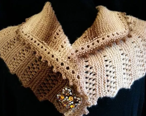 Victoria Knit Shawl Pattern