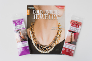 Make + Share Bracelet Kit and Bold Unique Jewelry Book Set Giveaway