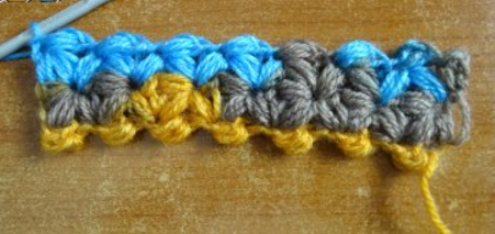 Jasmine Clusters Crochet Stitch Tutorial