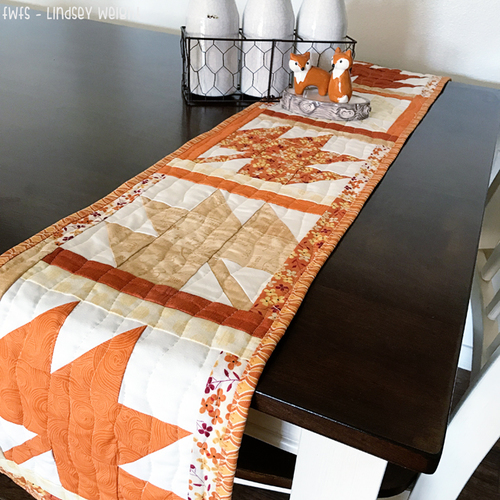 Golden Days Fall Table Runner Favequilts Com